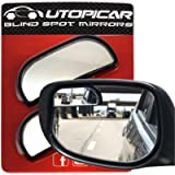 Blind Spot Mirrors - Car Mirror for Rearview Blind Side, Updated for optimized Shape and Size - Automotive Door Mirrors…