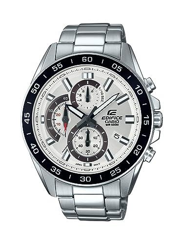 Casio Reloj Analogico para Hombre de Cuarzo con Correa en Acero Inoxidable EFV-550D-
