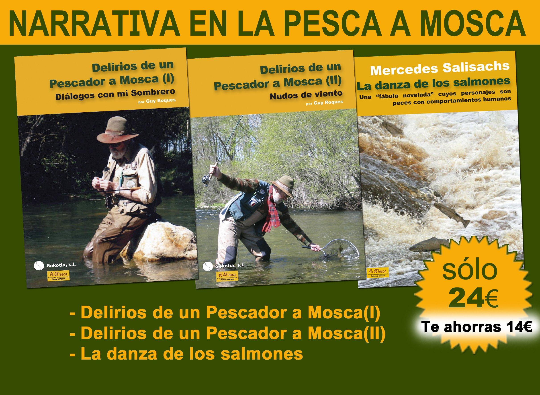 Pack de narrativa en la Pesca a Mosca: Amazon.es: Guy roques y Mercedes Salichas: Libros