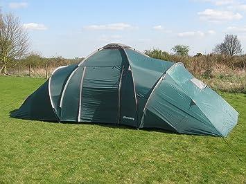 Ultrac& Churchill 9 Man Family C&ing Tent & Ultracamp Churchill 9 Man Family Camping Tent: Amazon.co.uk: Sports ...