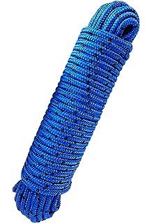 20m SEIL Polypropylen 6mm schwimmfähig Tauwerk Tau Kunststoffseil PP Seil ROT