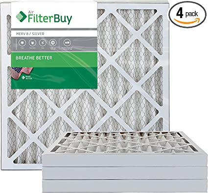 12 pieces 24x24x2 MERV 8 Pleated Air Filter