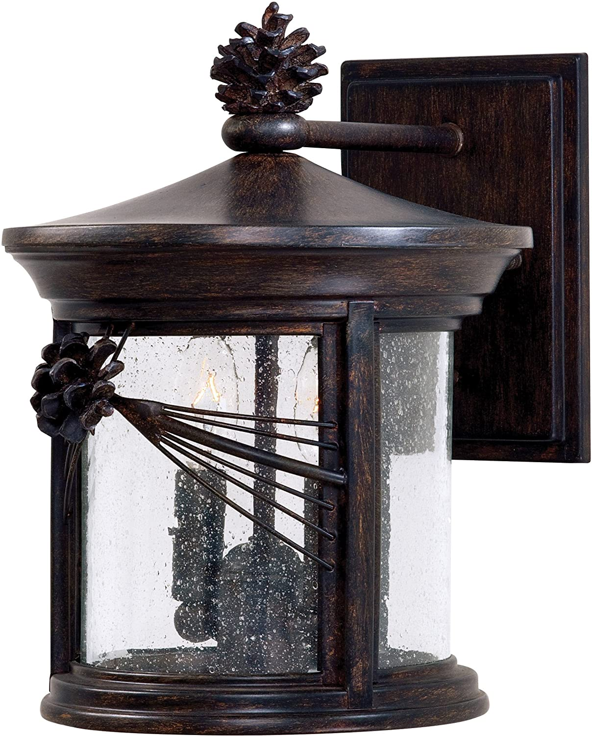 Minka Lavery Outdoor 9152 A357, Abbey Lane Outdoor Wall Sconce Lighting, 40  Total Watts, Iron   Wall Porch Lights   Amazon.com
