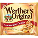 WERTHER'S ORIGINAL Caramel Hard Candy, Individually Wrapped Candy, 9 Ounce Bag
