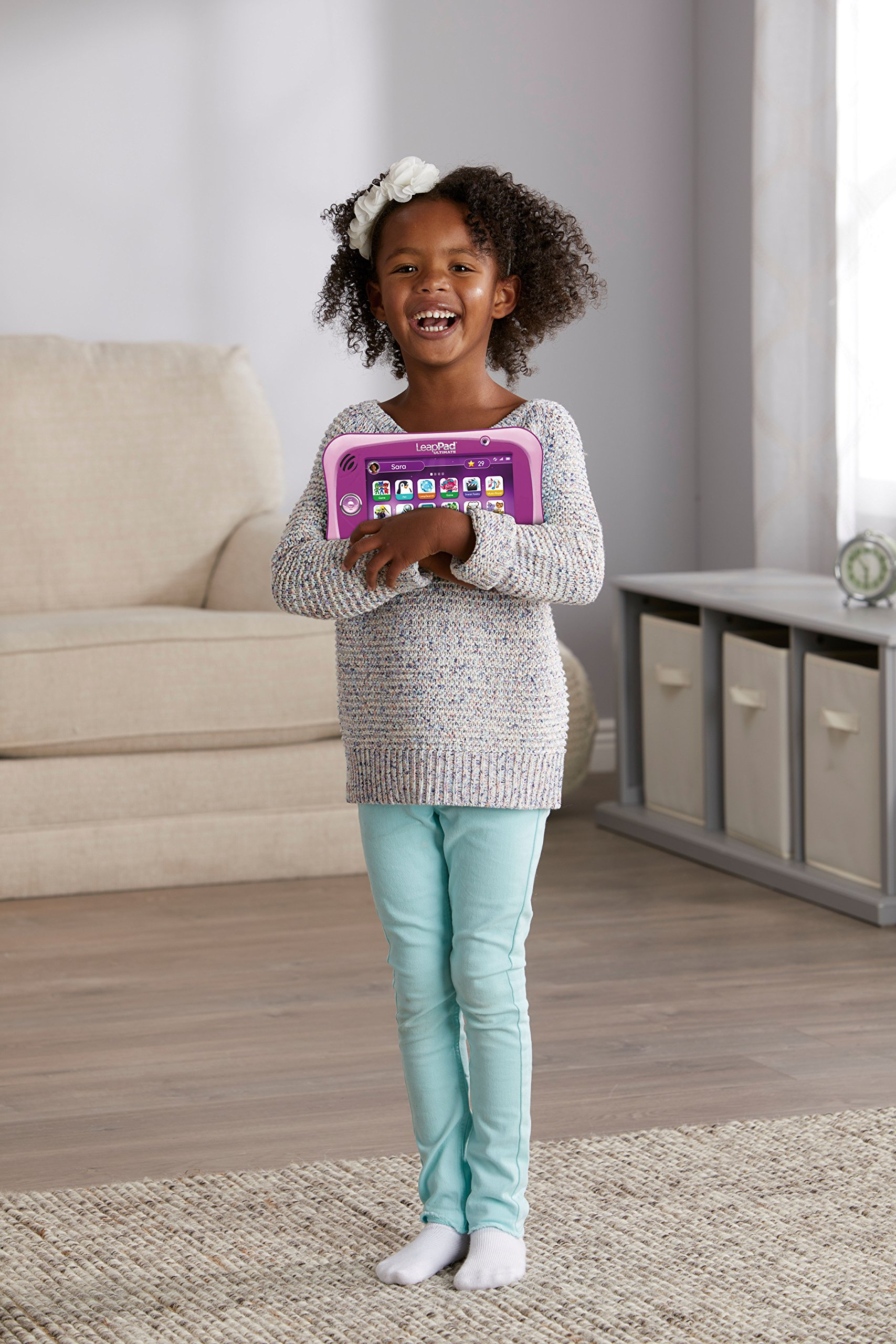 LeapFrog LeapPad Ultimate Ready for School Tablet, Pink by LeapFrog (Image #8)