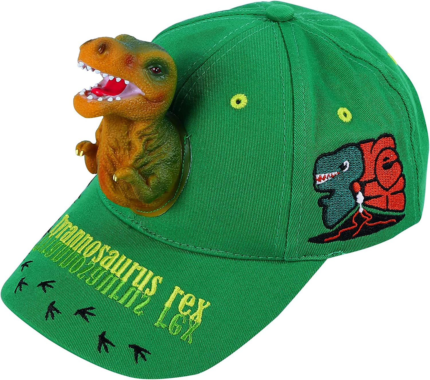 Amazon Com Boy S Sun Hats 3d T Rex Dinosaur Baseball Trucker Caps