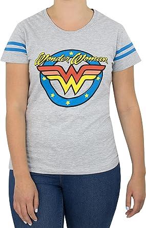 DC Comics - Camiseta para mujer - Wonder Woman: Amazon.es: Ropa y accesorios