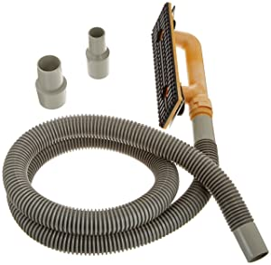 Hyde Tools 09165 Dust-Free Drywall Vacuum Hand Sander with 6-Foot Hose, 6'