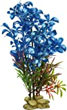 Aquarium Plant Decoration - Hygrophilia Aquarium Plant for Fresh and Salt Water, Low Maintenance Safe and Non-Toxic Fish Tank Decor, Fish Tank Artificial Plant Decor by Aquatic Creation