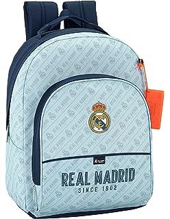 Safta Mochila Real Madrid Corporativa Oficial Mochila Escolar 320x150x420mm