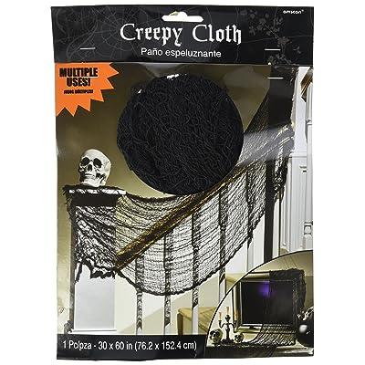 Halloween Creepy Cloth - Black: Toys & Games