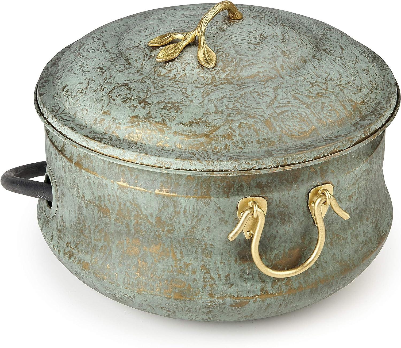 Good Directions 450V2 Sedona Hose Pot with Lid, Blue Verde