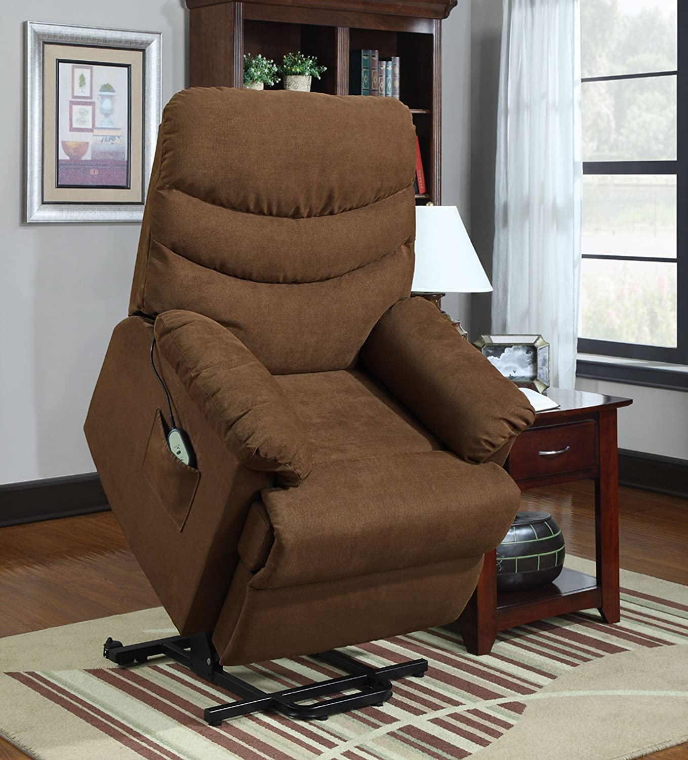 mattresses uc furniture of living comfort recliners lift chairs montage ultra biltrite collection leather at room power chair