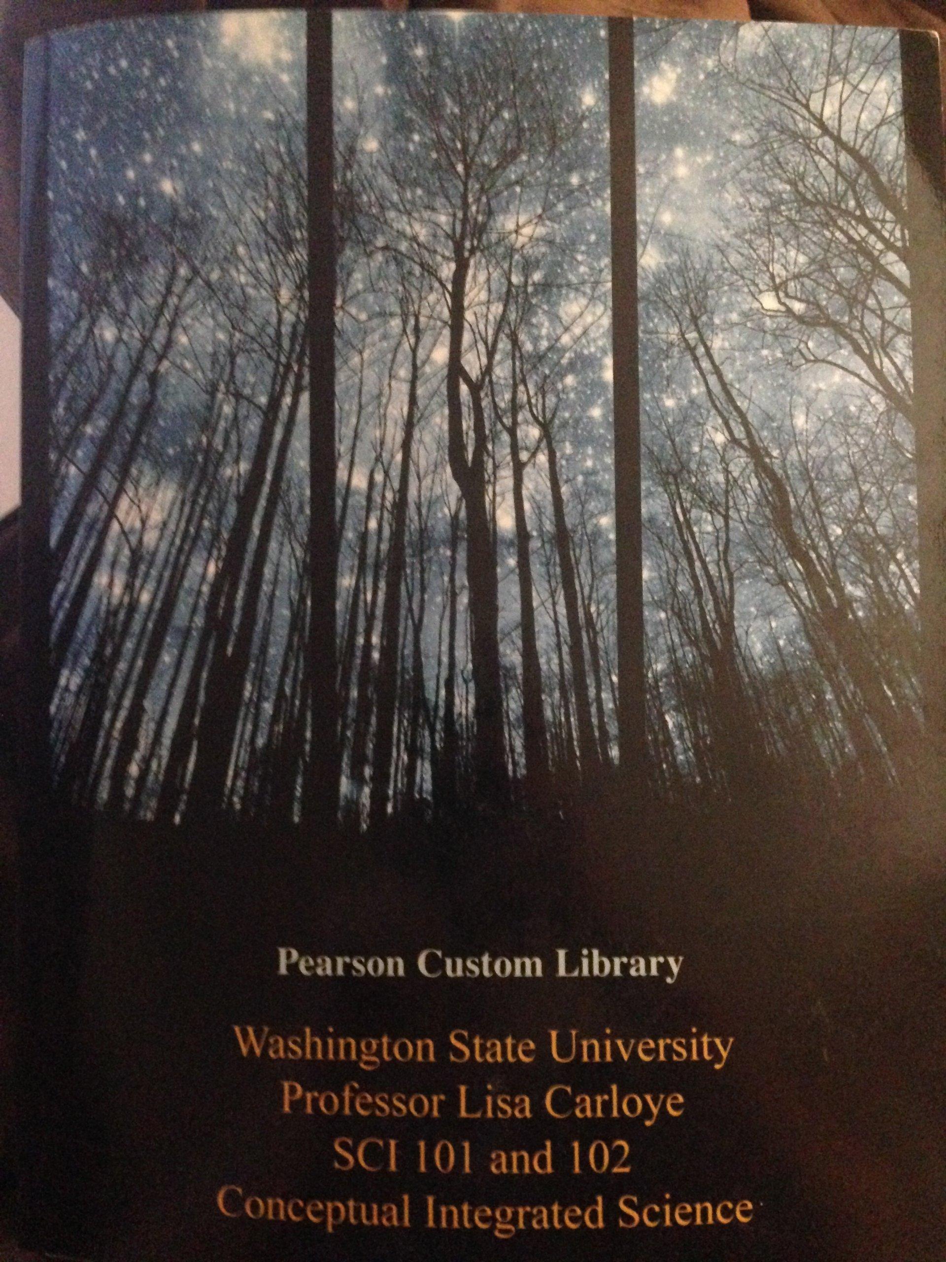 Washington State University Professor Lisa Carloye SCI 101 and 102 PDF