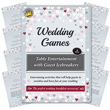 Wedding Games Table Entertainment And Icebreakers For Guests