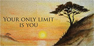 product image for Next Innovations Motivational Wall Art Only Limit Wall Decor Panel