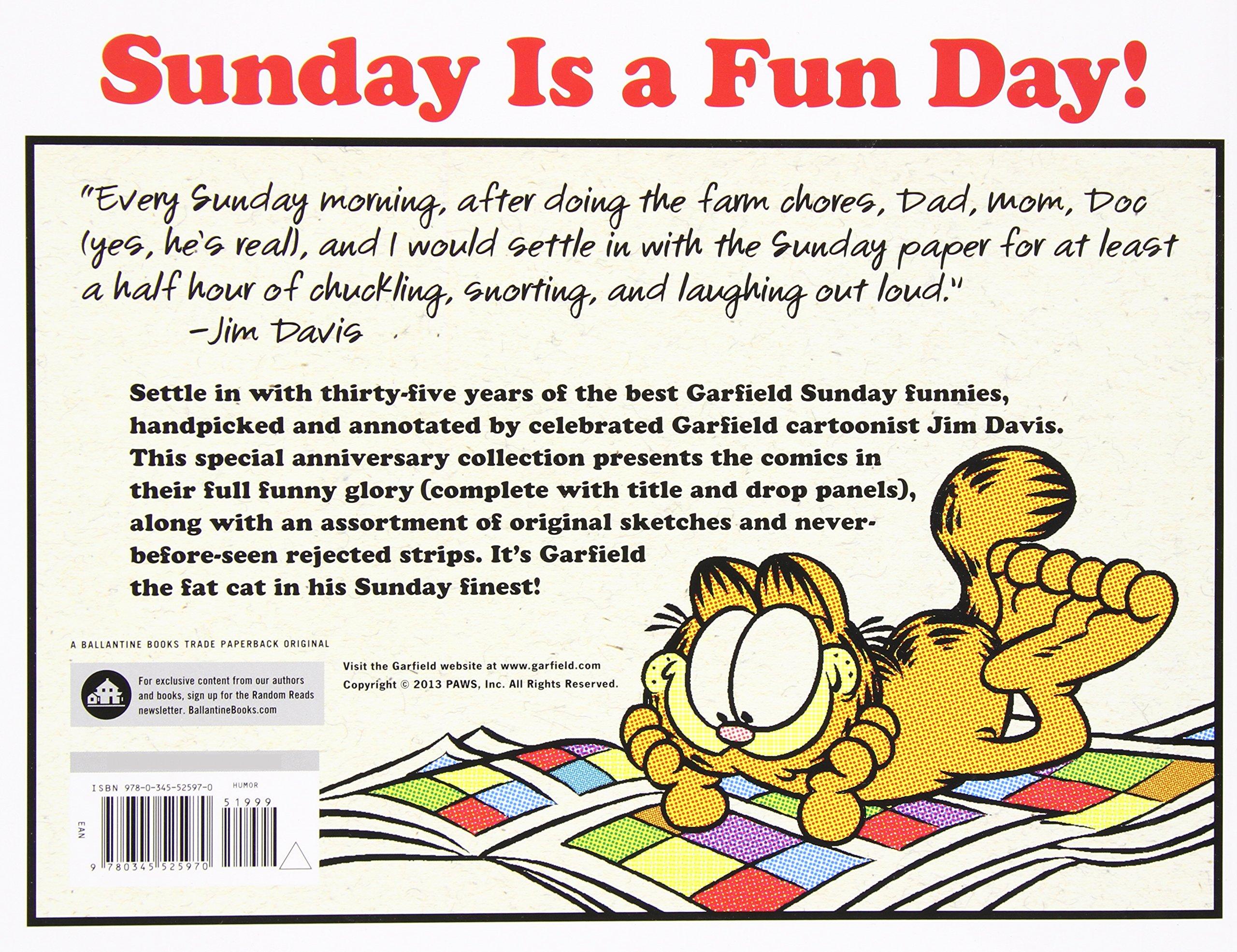 Garfield\'s Sunday Finest: 35 Years of My Best Sunday Funnies: Jim ...