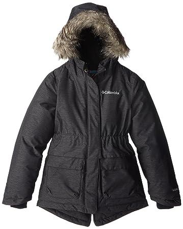 Winterjacke Nordic lange Jacke für Herren abnehmbare Kapuze mit Reißverschluss Sportjacke