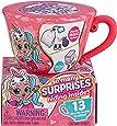Itty Bitty Prettys Tea Party Little Teacup Doll Assortment (Includes 12 Surprises!) by ZURU, Medium (9701)