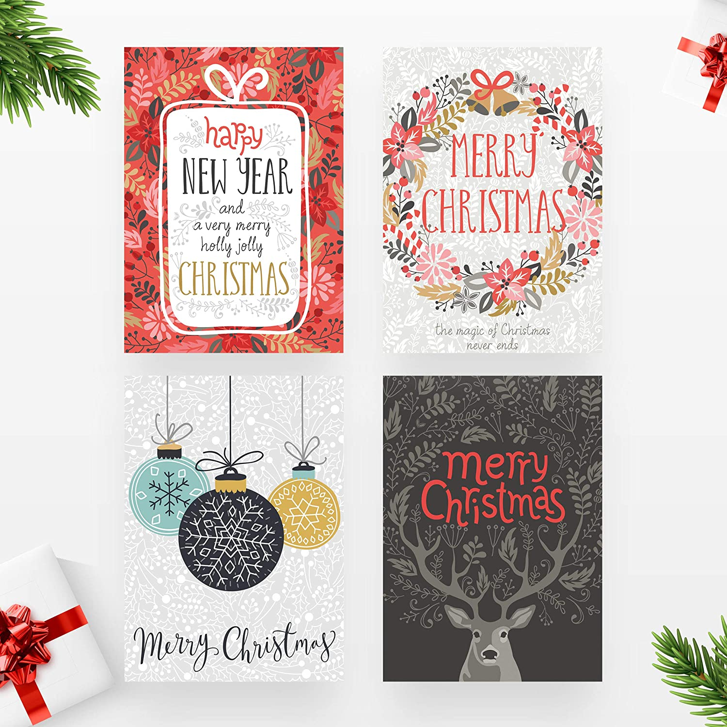 20 Merry Christmas Cards Series 2 by Kyobo Creations |10 Multipack ...