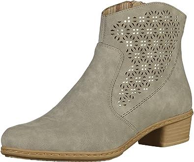0612ff10f1b76b Rieker Damen Y0735 Kurzschaft Stiefel  Amazon.de  Schuhe   Handtaschen