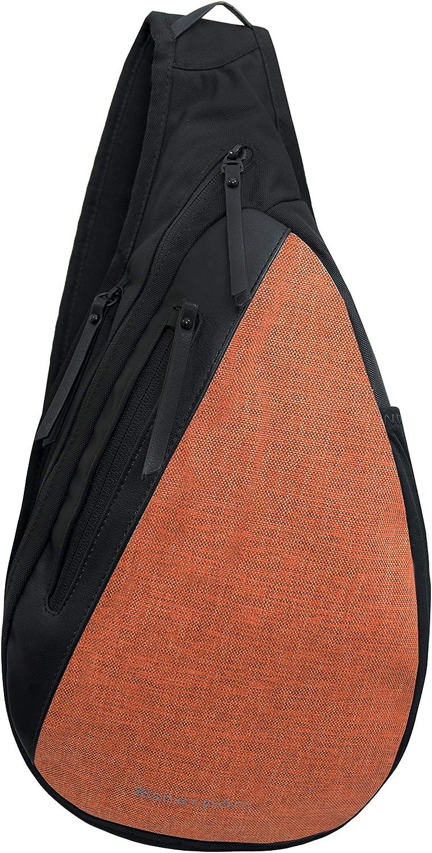 Sherpani Esprit, Anti Theft Travel Sling Bag, Shoulder Sling Bag, Crossbody Sling Backpack for Women with RFID Protection (Copper)