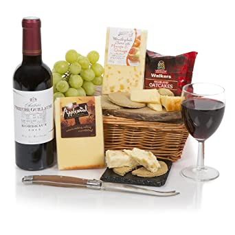 Wine cheese hamper food hampers and gift baskets with cheese wine cheese hamper food hampers and gift baskets with cheese red wine gift negle Image collections