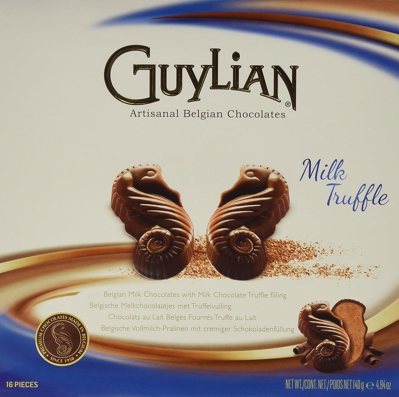 Amazon.com : Guylian Belgium Chocolates Milk Chocolate Seahorse Truffle, Chocolate Filling, 4.94 Ounce : Grocery & Gourmet Food