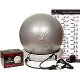 Amazon.com: TKO Anti Burst Fitness Stability Ball To