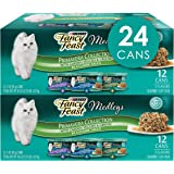 Purina Fancy Feast Gravy Wet Cat Food Variety Pack, Medleys Primavera Collection - (2 Packs of 12) 3 oz. Cans