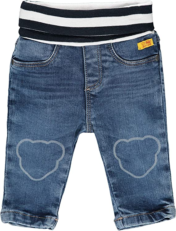 Steiff Baby-Jungen Mit S/ü/ßer teddyb/ärapplikation Set Strampler T-Shirt Langarm