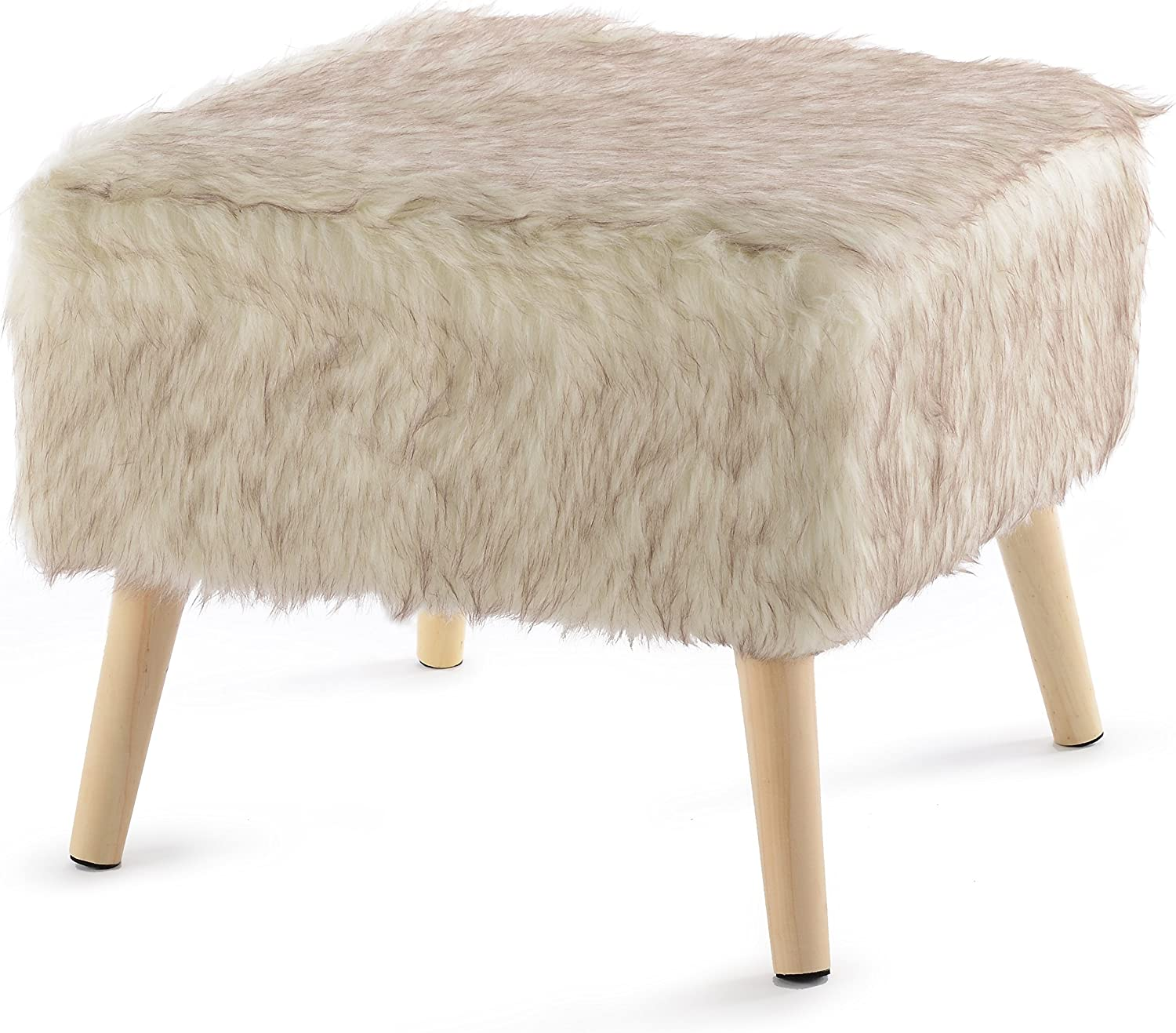 "Cheer Collection 17"" Square Ottoman 