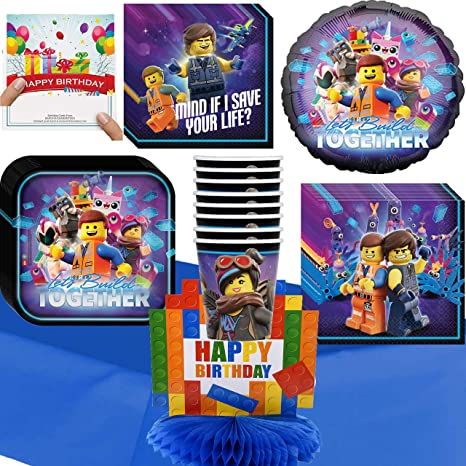 Amazon Lego Movie 2 Party Supplies Deluxe Supply And