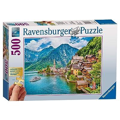 Ravensburger Hallstatt in Austria Jigsaw Puzzle (500 Piece): Toys & Games [5Bkhe0503962]