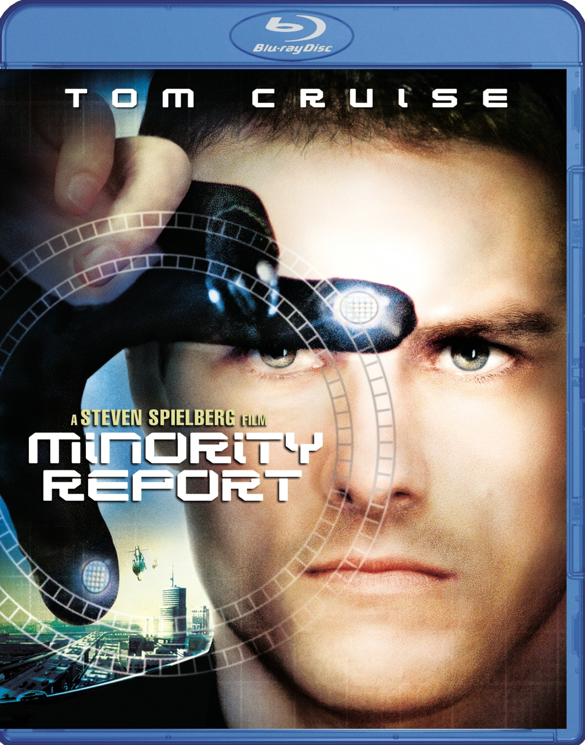 Blu-ray : Minority Report (, Dubbed, Dolby, AC-3, Digital Theater System)