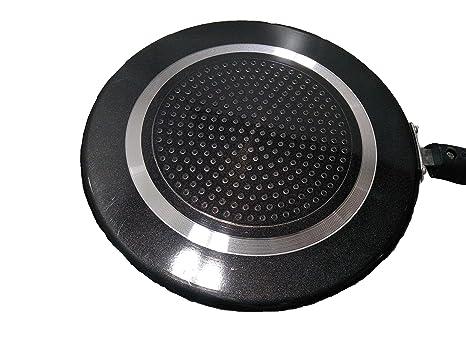 Amazon.com: Dosa antiadherente Tawa/plancha, 2,6 mm., Negro ...