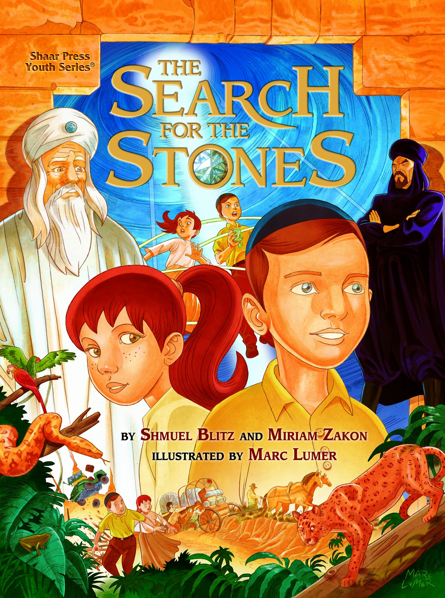Search For the Stones (Shaar Press Youth)