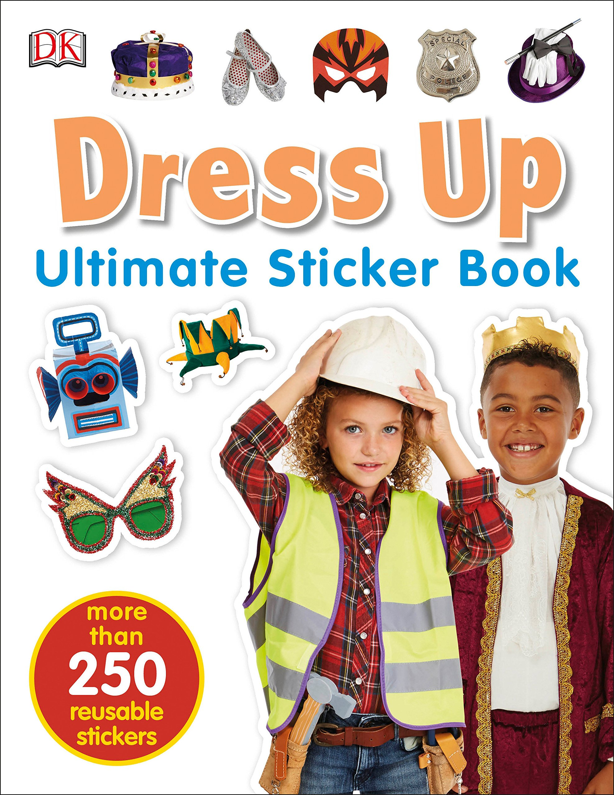 Download Ultimate Sticker Book: Dress Up (Ultimate Sticker Books) PDF