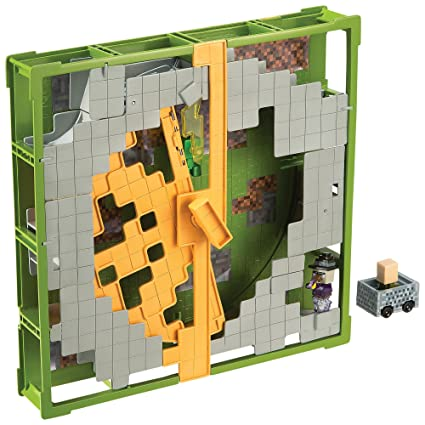 Amazon.com: Minecraft Hot Wheels pista Bloques Plains ...