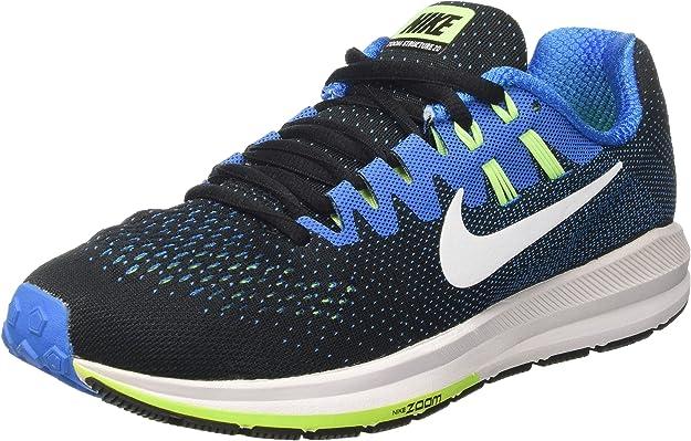 Nike 849576-004, Zapatillas de Trail Running para Hombre, Negro (Black/White/Photo Blue/Ghost Green), 38.5 EU: Amazon.es: Zapatos y complementos