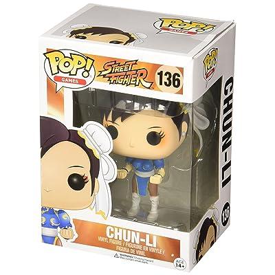 Funko Street Fighter Chun-Li Pop Games Figure: Funko Pop! Games:: Toys & Games [5Bkhe1102760]