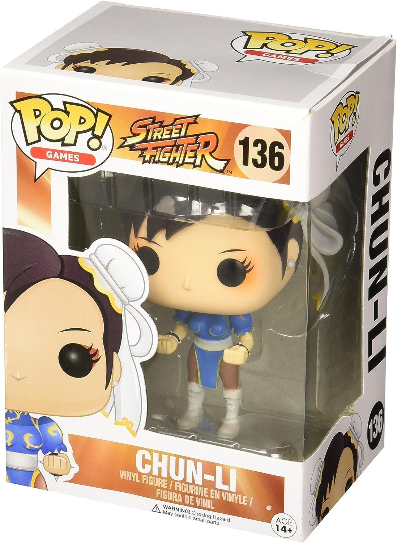 Funko 11653 POP Vinylfigur Chun-Li Street Fighter Einheitsgr/ö/ße Multi