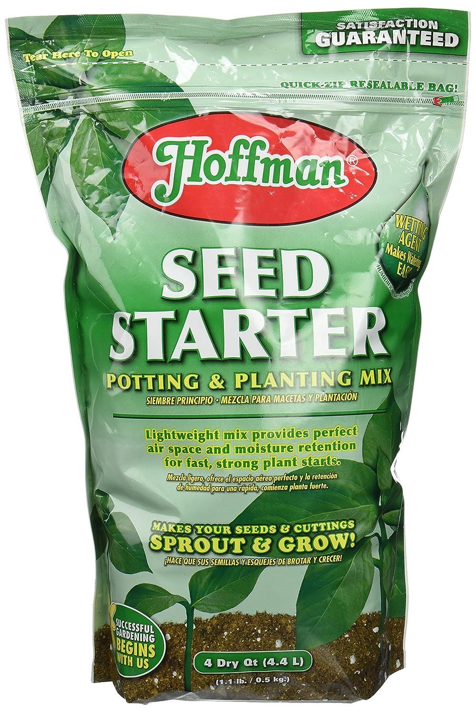 Amazon.com : Hoffman 30101 Seed Starter Soil, 4 Quarts : Soil And Soil Amendments : Garden & Outdoor