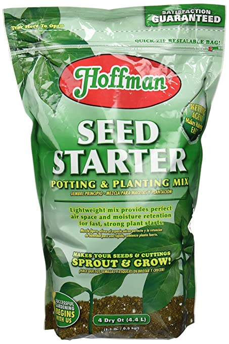 Hoffman 30101 Seed Starter Soil, 4 Quarts