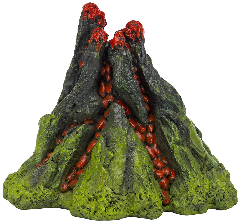 Fish tank volcano - Amazon Com Nemo 5 Inch Aerating Volcano Resin Aquarium Ornament Aquarium Decor Ornaments Pet Supplies
