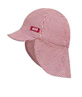 260c5686 Doll unisex baseball cap Baseball cap with neck protection, Red (chinese  red 2000)