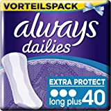 Always Slipeinlagen Extra Protect Long Plus, Vorteilspack, 1er Pack (1 x 40 Stück)