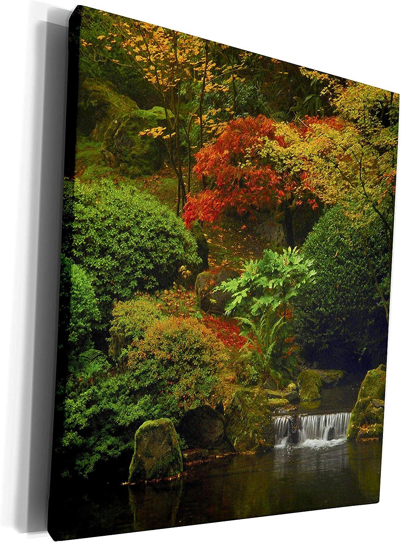 3dRose Danita Delimont - Japanese Gardens - Japanese Garden Portland, Oregon, USA - US38 MHE0048 - Michel Hersen - Museum Grade Canvas Wrap (cw_145940_1)