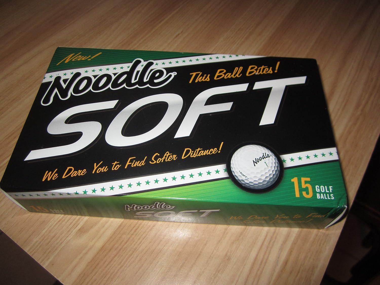 Noodle Soft Golf Balls 15 Golf Balls