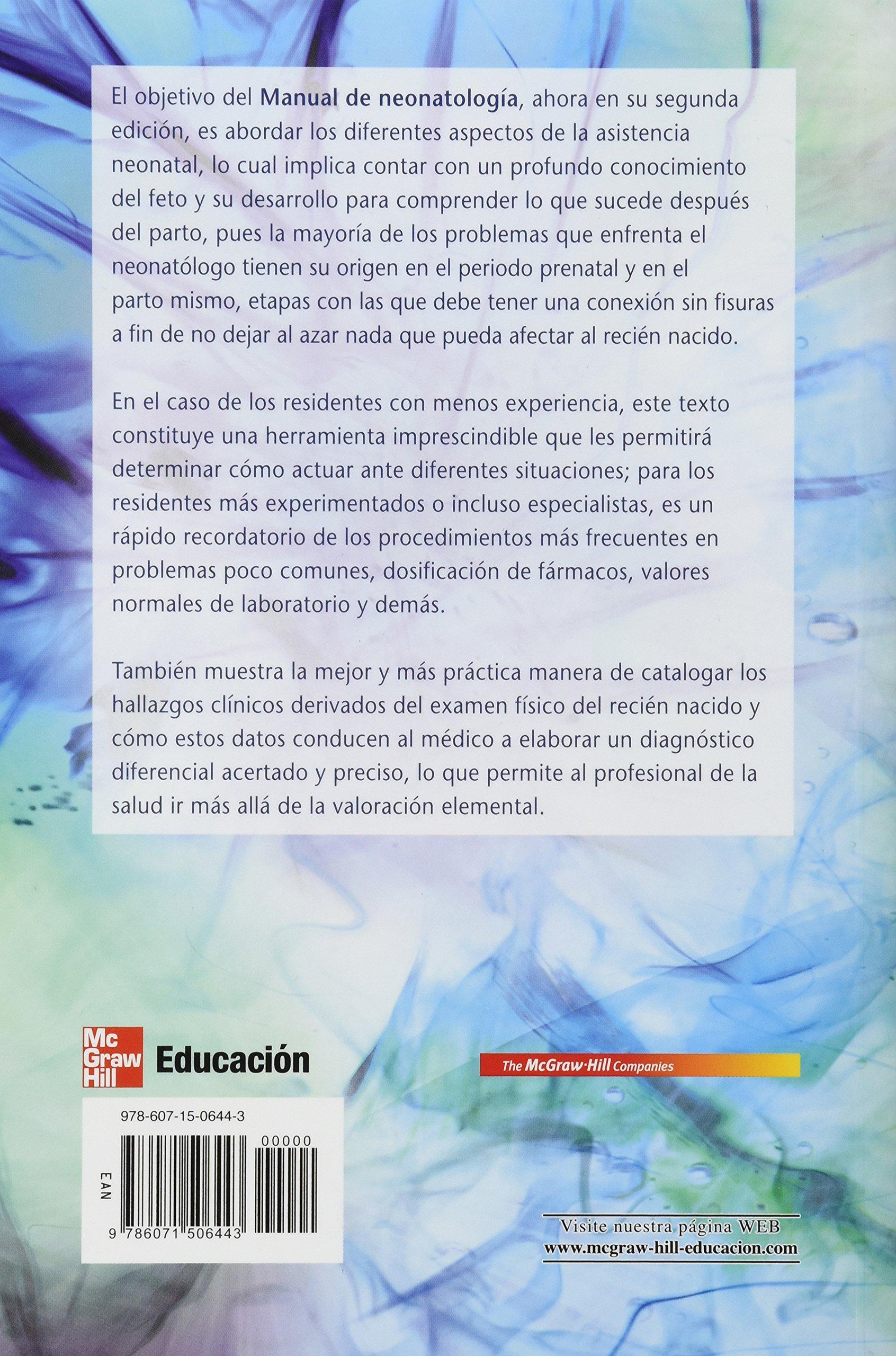 MANUAL DE NEONATOLOGIA: RODRIGUEZ BONITO: 9786071506443: Amazon.com: Books